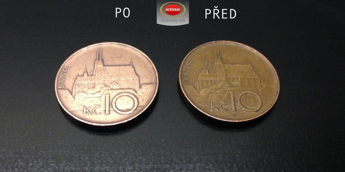 Čištění mincí