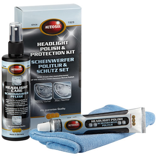 Autokosmetika Autosol Headlight Protection Care Kit