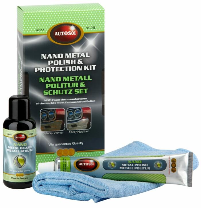 Autokosmetika Autosol Nano Metal Polish Protection