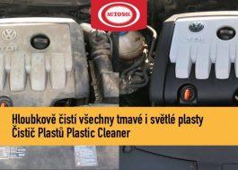 čištění plastů na autě