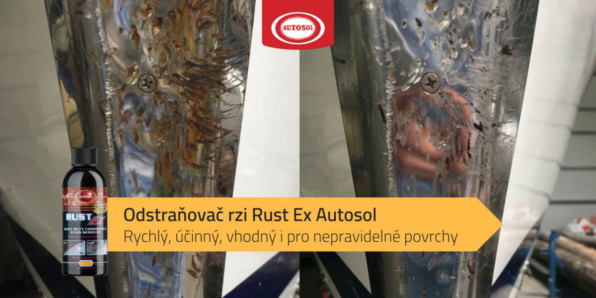 Odstraňovač rzi Rust Ex