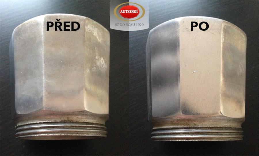 Čištění hliníku pomocí pasty Aluminium Polish