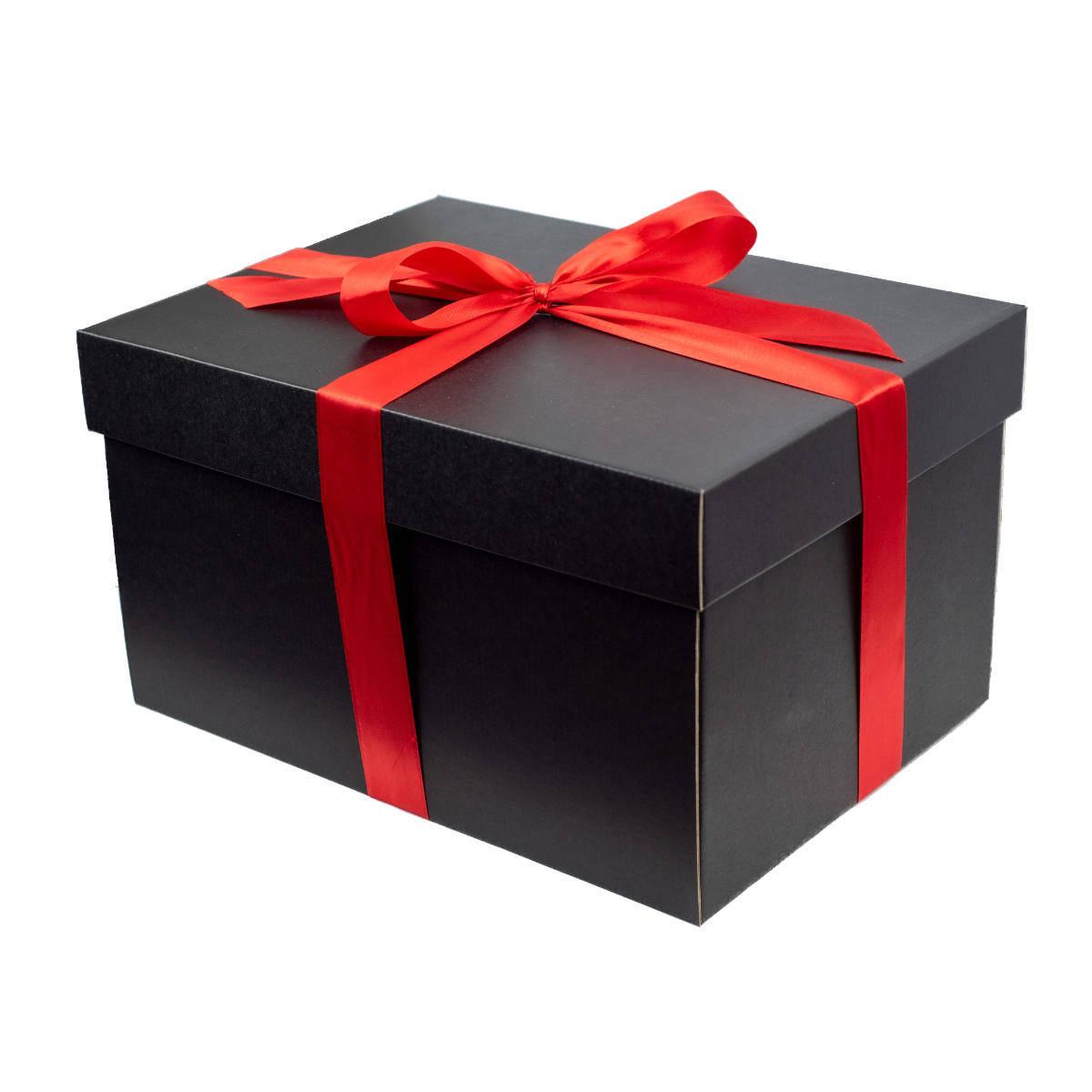 Dárkové balení ve velké krabici se stuhou