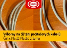 čištění PC kabelu
