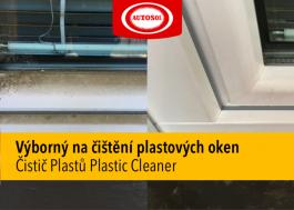 Čištění plastových oken