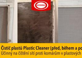 čištění sítí proti komárům