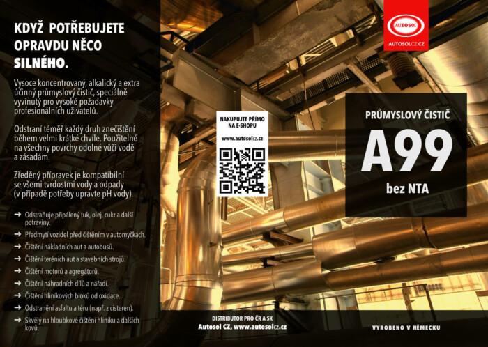 Průmyslový čistič A99