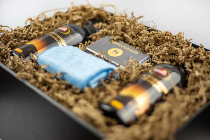 Dárkový balíček pro kompletní péči o auto s polymerovou ochranou Autosol